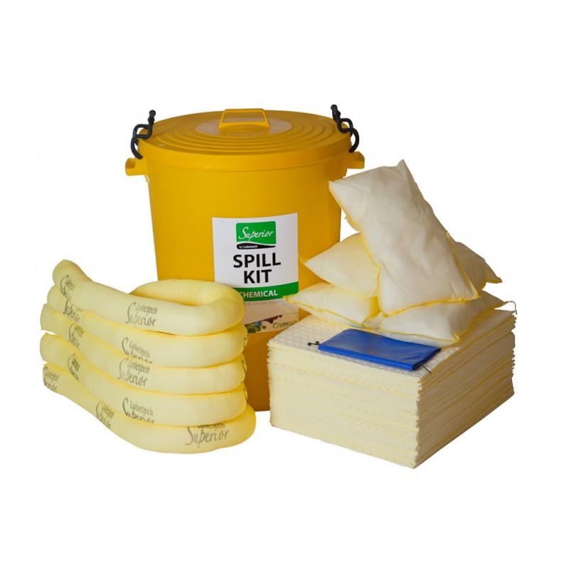 chemical spill kit instructions