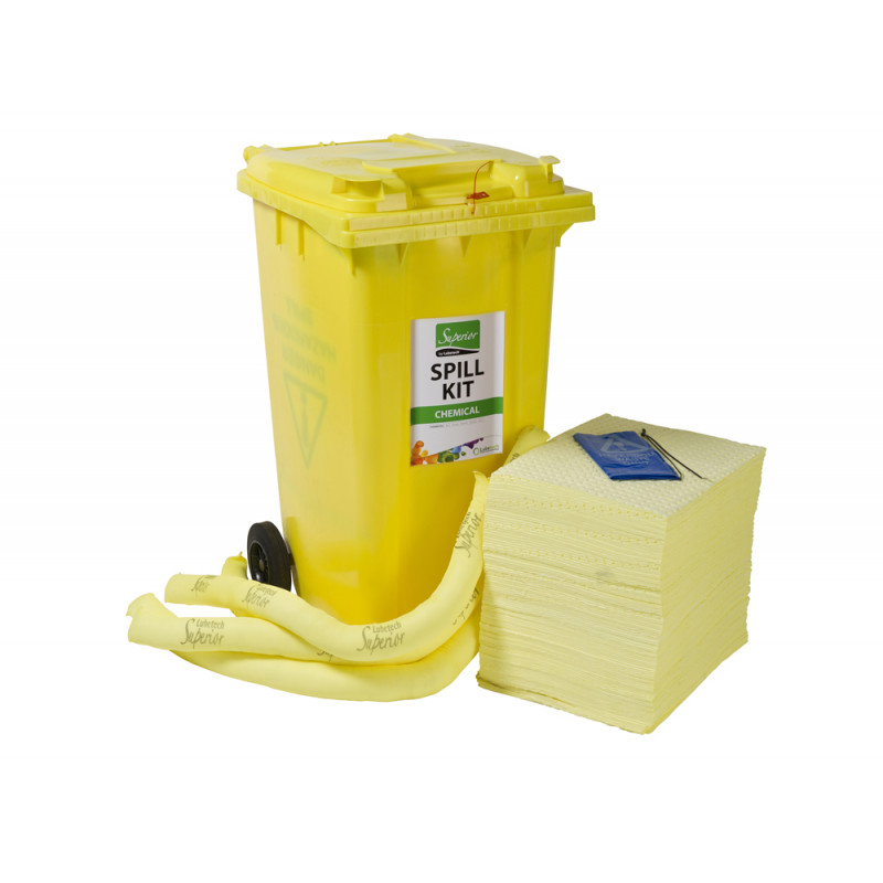 universal spill kit instructions