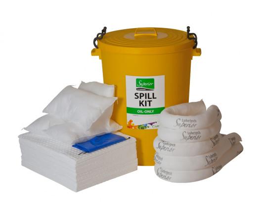 80 Litre Premium Oil-Only Spill Kit