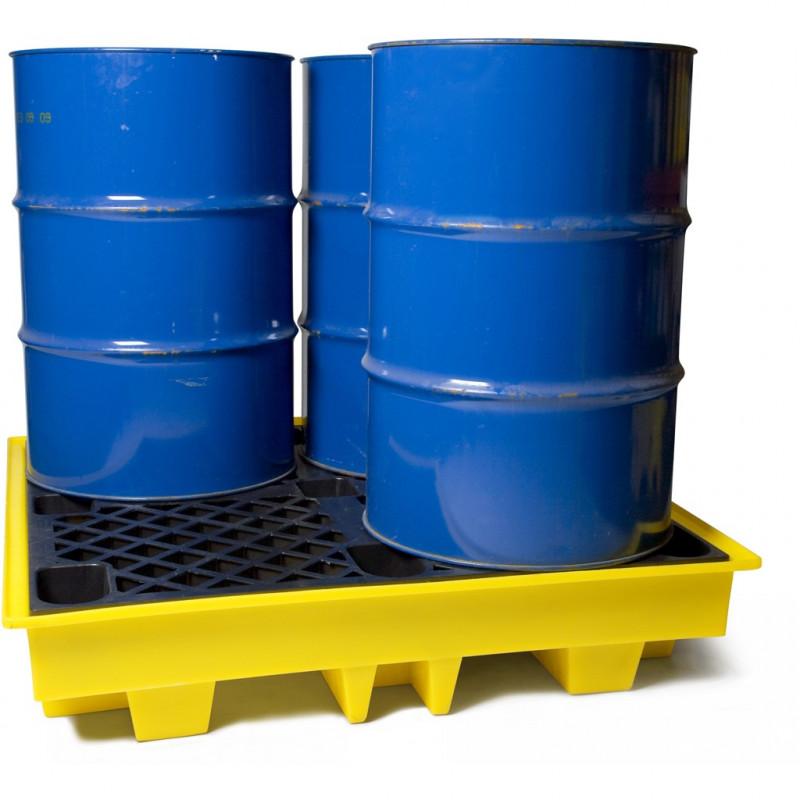 4 Drum Spill Pallet Pro Spill