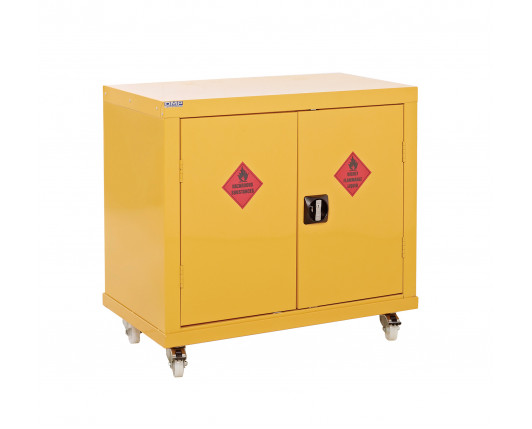 Hazardous Substance Mobile Cupboard 1040 x 900 x 460mm