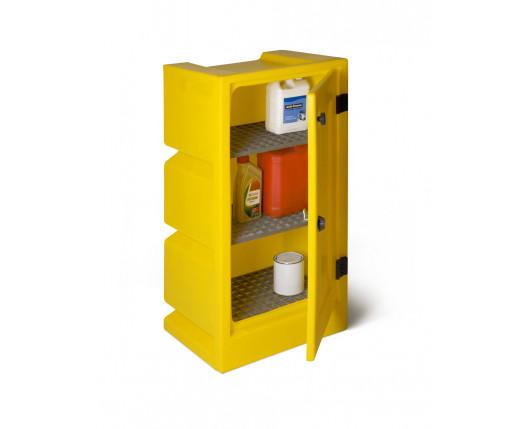 Bunded Cupboard - 2 Shelves - 530 x 420 x 970mm