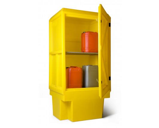 Bunded Cupboard - 1 Shelf - 920 x 710 x 1830mm