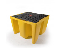 Single IBC Spill Pallet - With Grate