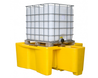 Prestige Single IBC Spill Pallet With Built In Dispensing Area