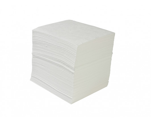 Economy Oil-Only Absorbent Pads - 50cm x 40cm - Pack of 200