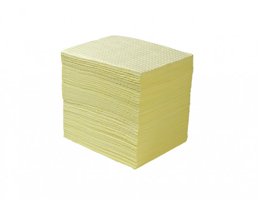 Premium Chemical Absorbent Pads - 50cm x 40cm - Pack of 100