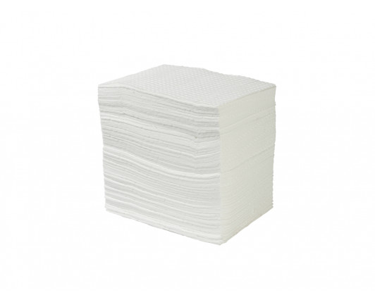 Premium Oil-Only Absorbent Pads - 50cm x 40cm - Pack of 100