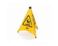 Pop-Up Cone - 50cm Multilingual 'Caution' Symbol