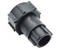 IBC S60x6 (2 inch) Female to 1 inch BSP Female Swivel Buttress
