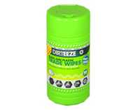 Dirteeze Glass & Plastic Trade Wipes - Tub of 80 Wipes