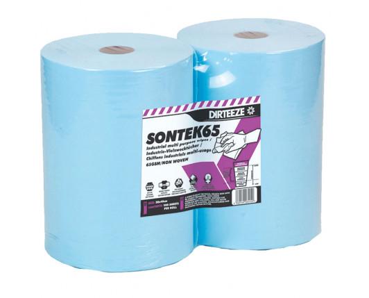 Sontek 65 Low Lint Technical Wipes Twin-pack Rolls 280 sheets 30 x 40cm