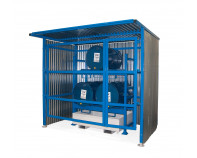 Drum Storage Shelter