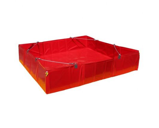 Eccotarp ET 041 XL DECON Collapsible Spill Bund - 450 Litre