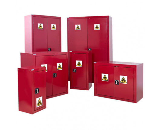 Flammable Liquid Floor Storage Cupboard 900 x 900 x 460mm