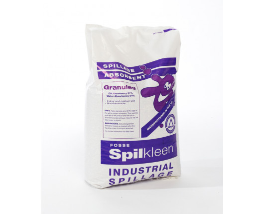70x Spilkleen 20L Loose Absorbent Clay Granules