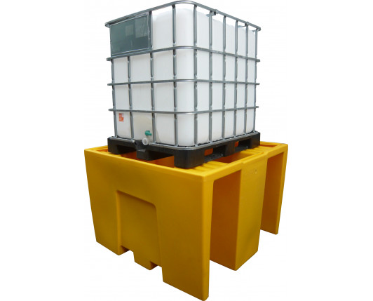 IBC Single Pallet Spill Bund - 1260 Litres