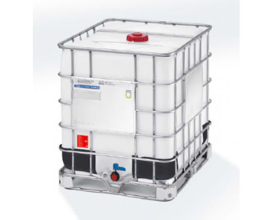 1000 Litre New Schutz IBC - Steel Pallet - UN Approved