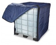 Full IBC Insulation Cover with Openings
