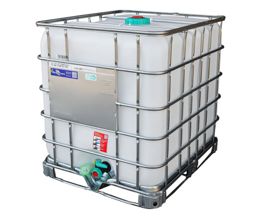 1000 Litre FSSC Food Grade IBC - Steel Pallet - UN Approved