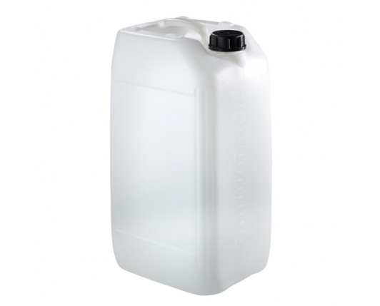 25 Litre Stackable Plastic Jerry Can - Natural - UN Approved - x54 Pack